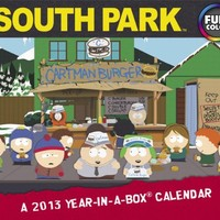 2013 South Park Year-In-A-Box Calendar