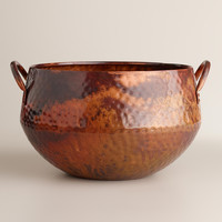 Hammered Copper Ice Bucket - World Market