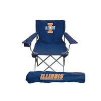 Illinois Fighting Illini NCAA Ultimate Adult Tailgate Chair