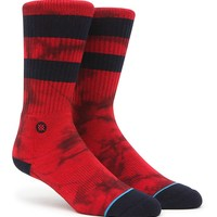 Stance Lennon Crew Socks - Mens Socks - Red - One