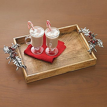 Mud Pie Holly Gallery Serving Tray