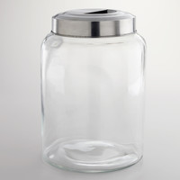 Large Glass Kitchen Jar - World Market