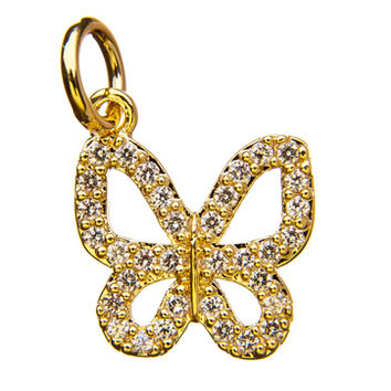 Pave Butterfly Lucky Charm by Altruette - Vital Voices