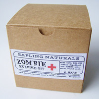 Zombie Survival Kit - Random Scents - great gift for men, nerds, survivalists