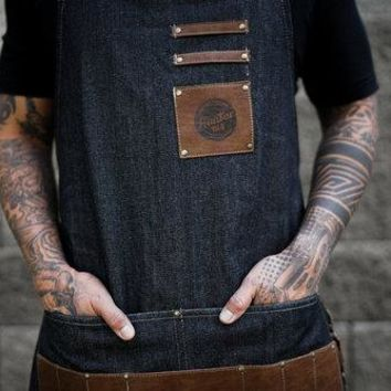 Hunter 1114 Denim Apron