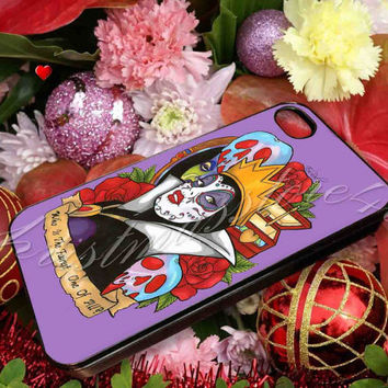 Evil Queen Snow White Disney Day Of The Dead - for iPhone 4/4s, iPhone 5/5s/5c, Samsung S3 i9300, Samsung S4 i9500 Hard Case