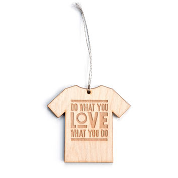 DO WHAT YOU LOVE (ORNAMENT)