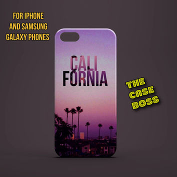CALIFORNIA SUMMER Design Custom Phone Case for iPhone 6 6 Plus iPhone 5 5s 5c iphone 4 4s Samsung Galaxy S3 S4 S5 Note3 Note4 Fast!