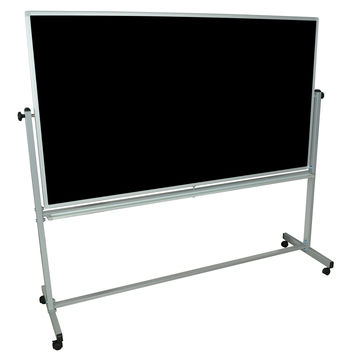 Whiteboards:  Luxor Reversible Magnetic Whiteboard/ Chalk Board