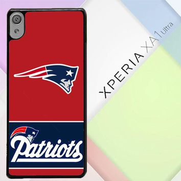 New England Patriots Logo X3220 Sony Xperia XA1 Ultra Case
