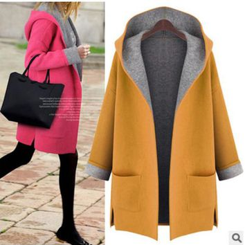 Coat Slim Hats Plus Size Jacket [163285172250]