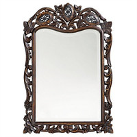 Howard Elliott St. Agustine French Brown Mirror  - Howard Elliott 4085