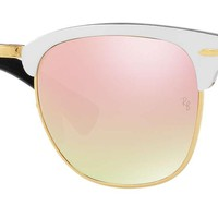 Ray Ban Sunglasses Clubmaster Aluminum Flash