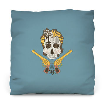 Do You Punk? Throw Pillow