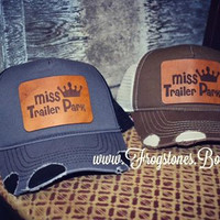 Miss trailer park cap