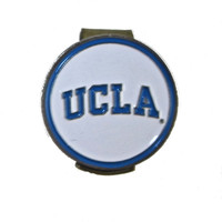 UCLA Bruins Golf Hat Clip with Double Sided Golf Ball Marker