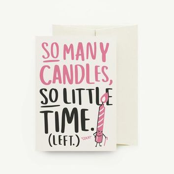 So Many Candles Card