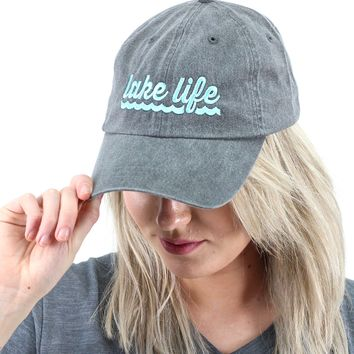 Lake Life Cap {Grey}