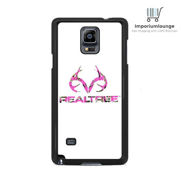 pink camo deer logo realtree For Samsung Galaxy Note 3 | 4 Case
