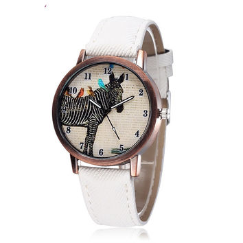 Awesome Good Price New Arrival Designer's Gift Trendy Great Deal Korean Hot Sale Stylish Simple Design Pattern Watch [9262739396]