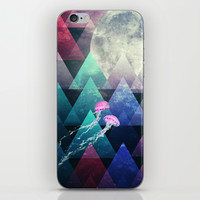 Sleeping Forest iPhone & iPod Skin by SensualPatterns