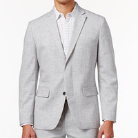 INC International Concepts Men's Slim-Fit Grey Chambray Blazer, Created for Macy's | macys.com