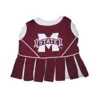 ONETOW Mississippi State Bulldogs Cheerleader Dog Dress