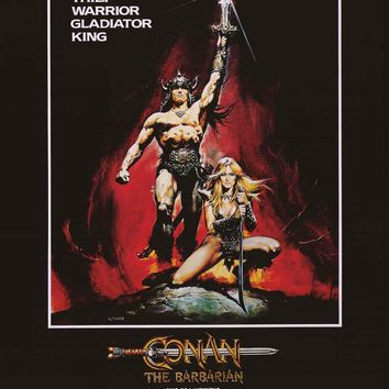 Conan the Barbarian Movie Poster 24x36