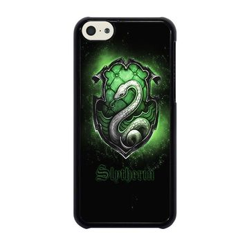 slytherin logo iphone 5c case cover  number 2