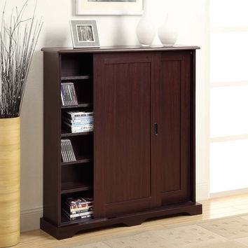 Michael Anthony Furniture Sliding Door Multimedia Stand
