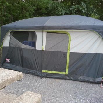 Academy - Coleman® Prairie Breeze™ Cabin Tent & Best Cabin Tent Products on Wanelo