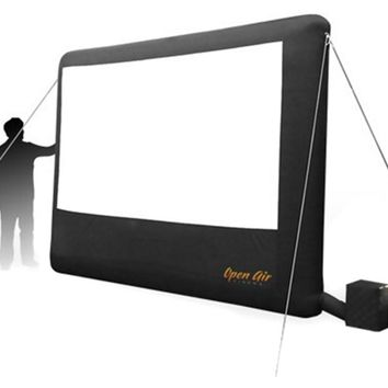 Open Air Cinema 9 ft. Inflatable Home Screen - Outdoor Audio and Video Equipment at Hayneedle