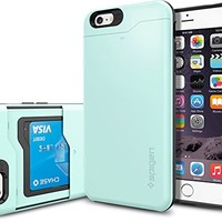 iPhone 6 Plus Case, Spigen Slim Armor CS Case for iPhone 6 Plus (5.5-Inch) - Mint (SGP10912)