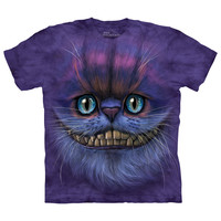 The Mountain Men's  Big Face Cheshire Cat T-shirt