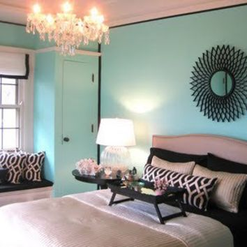 Tiffany blue teen room ideas design from for Tiffany blue living room ideas