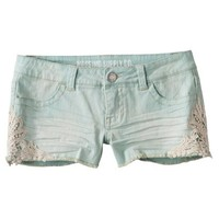 Mossimo Supply Co. Juniors Denim Short - Mint