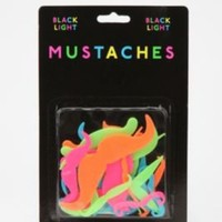 Glow in the Dark Mustaches