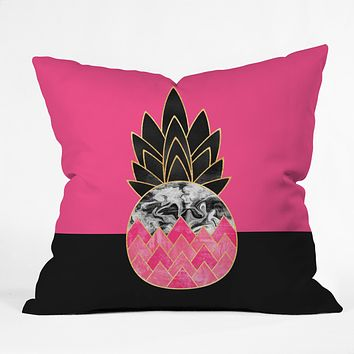 Elisabeth Fredriksson Precious Pineapple 2 Throw Pillow
