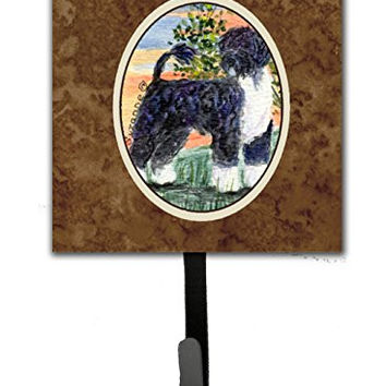 Caroline's Treasures SS8855SH4 Portuguese Water Dog Leash Holder or Key Hook, Small, Multicolor