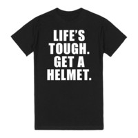 Life's Tough. Get A Helmet Shirt - Boy Meets World, Girl Meets World
