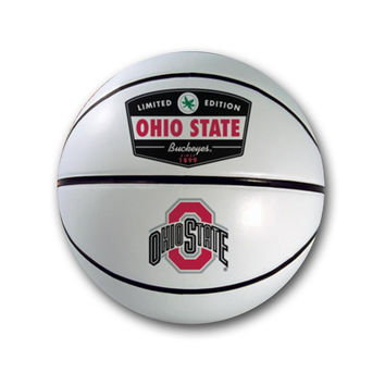 Signature White Ohio State Basketball
