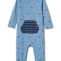 Rocket double-face kanga one-piece | Gap