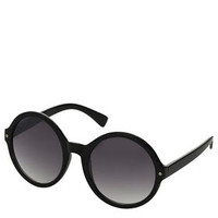 Gold Rim Round Sunglasses - New In This Week  - New In