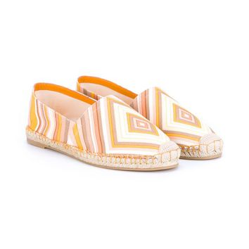 VALENTINO   1975 Native Couture-print Espadrilles   brownsfashion.com   The Finest Edit of Luxury Fashion   Clothes, Shoes, Bags and Accessories for Men & Women