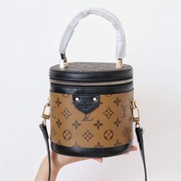 Louis Vuitton Cannes Monogram and Monogram Reverse Canvas Cross Body Bag