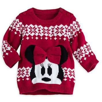 Minnie Mouse Holiday Sweater for Baby | Disney Store