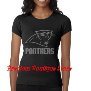 Panthers Rhinestone Shirt