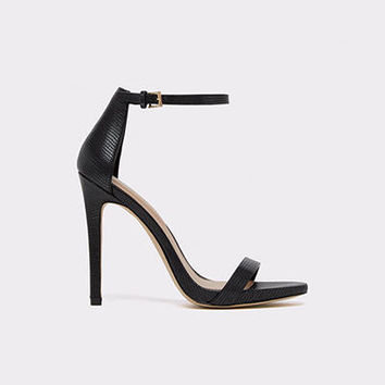 Caraa Black Misc. Women's Open-toe heels | ALDO US