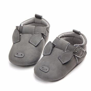 Baby Pig Moccasin Shoes