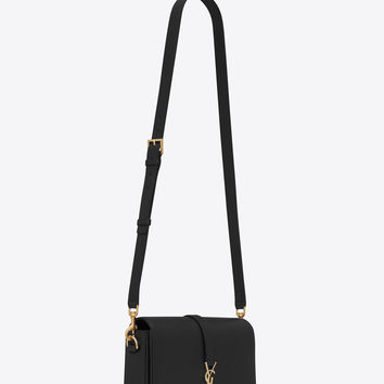 classic medium université bag in black leather